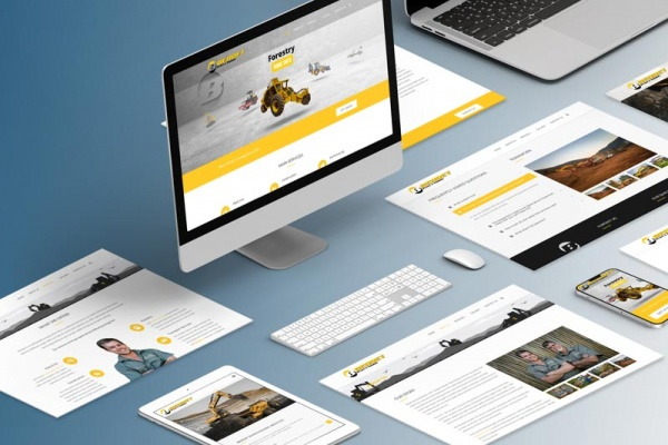 Bendet Plant and Towing - Isometric Computer Screens - Johannesburg Web Design
