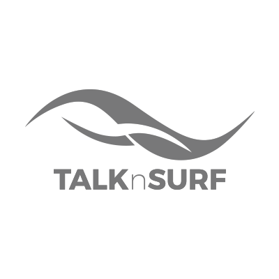 Wireless Internet Talknsurf Logo In Grey